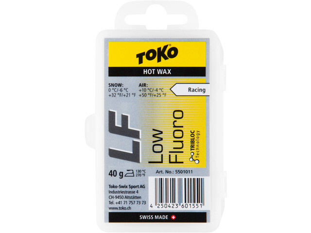 Toko LF Hot Wax - 40g amarillo/gris